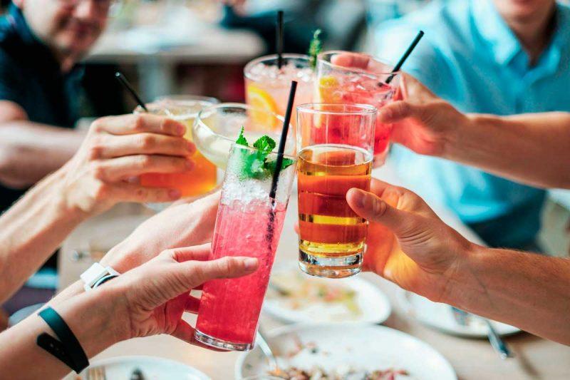 Лучшие коктейли с водкой