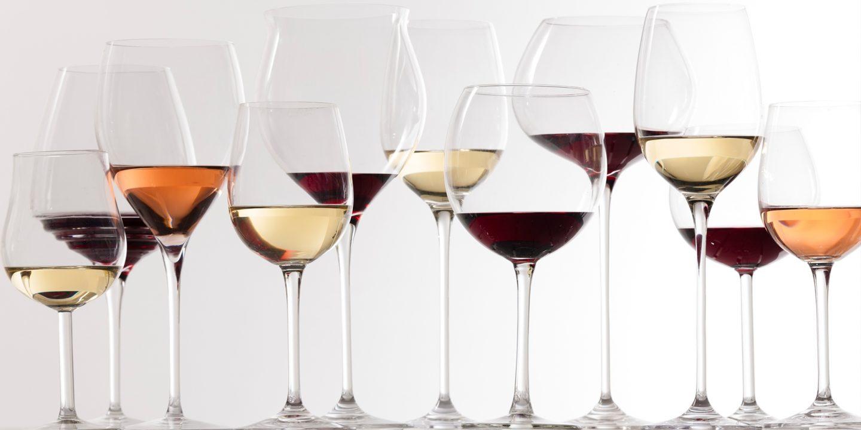 Выбор бокалов для вина