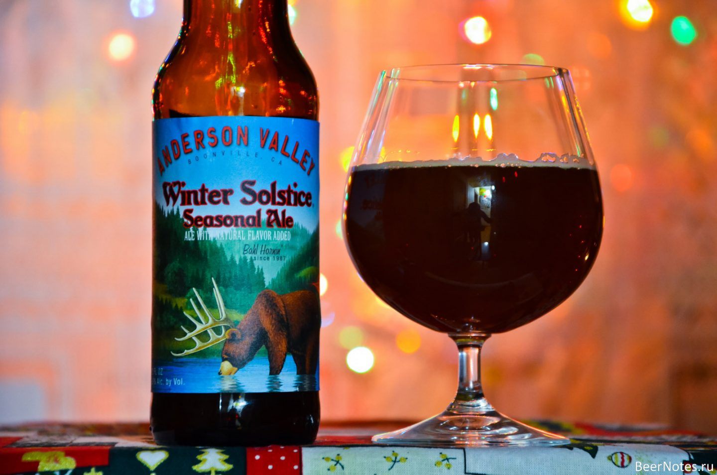 Пиво Anderson Valley Winter Solstice