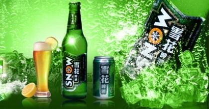 Китайское пиво Snow Beer