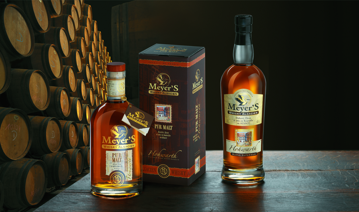 Виски Distillerie MEYER'S (Франция, Эльзас)