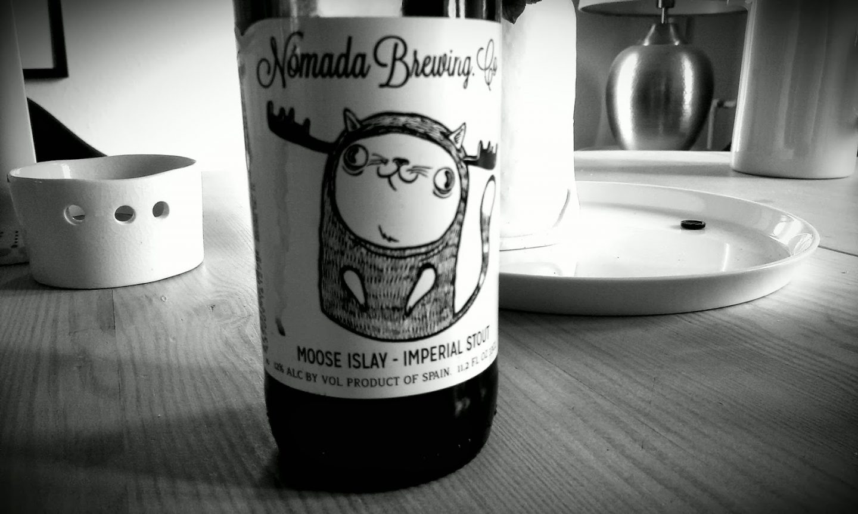 Пиво Nómada Moose Islay от Nómada Brewing