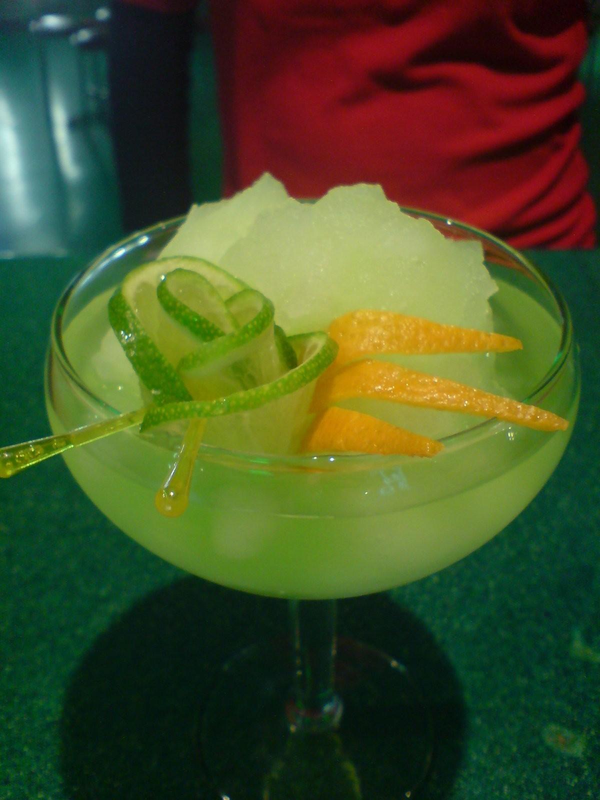 Коктейль Зелёная Маргарита (Green Margarita)