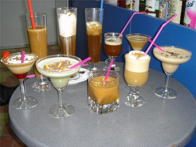 Коктейли с кофе
