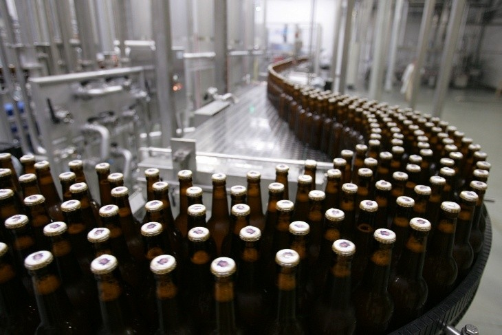Промышленная технология производства пива на заводах