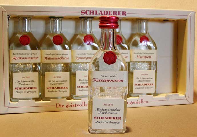 Вишнёвый шнапс Шладерер Kirschwasser