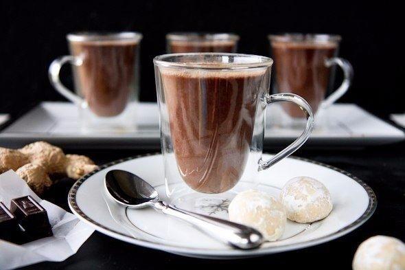 Coffee chocolate with sambuk