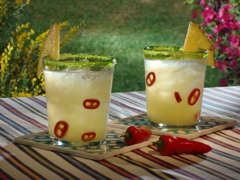 Коктейль Ананасовая Маргарита с острым перцем (Pineapple Margarita with chili)
