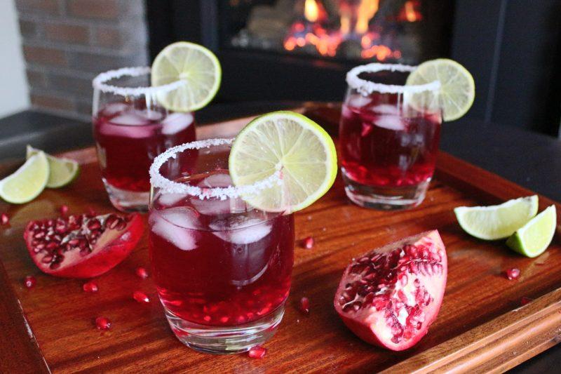 Коктейль Гранатовая Маргарита (Pomegranate Margarita)