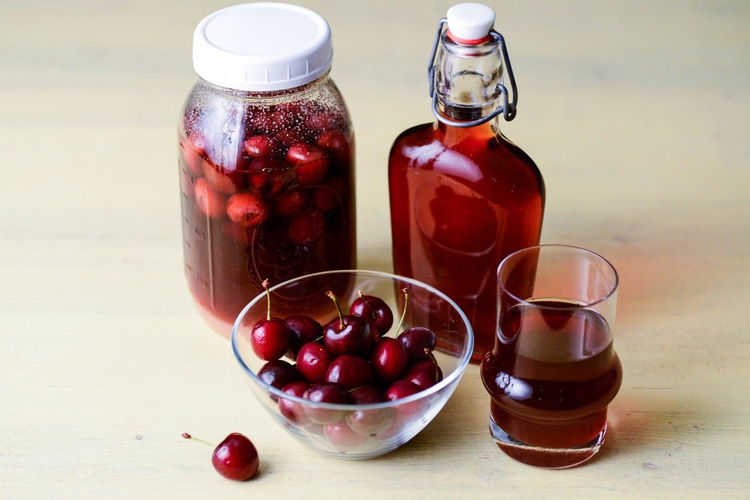как сделать вишневый чай