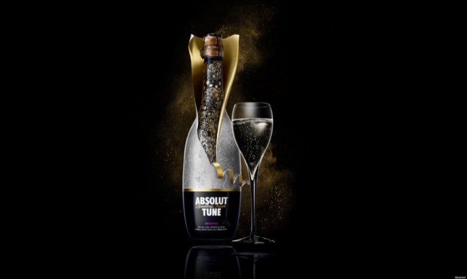 Коктейль водка с шампанским
