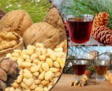 Водка на грецких и кедровых орехах