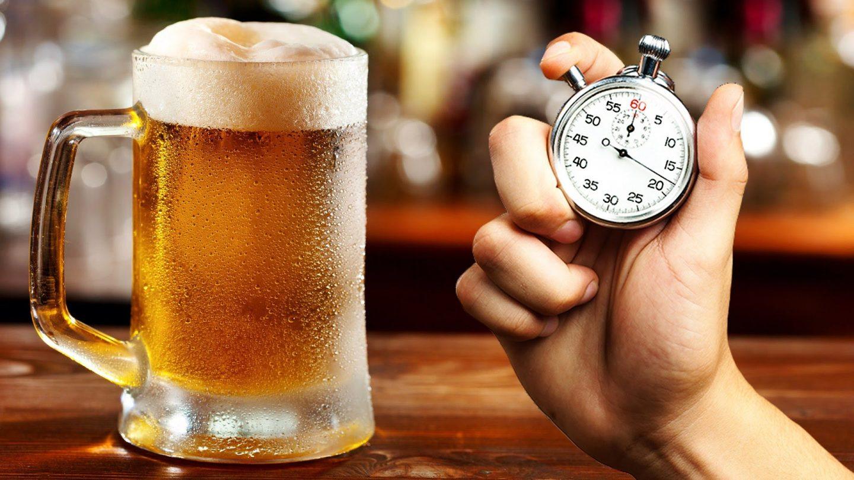 Как быстро охладить пиво