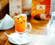 Согревающий коктейль с Облепихой (Warming cocktail with sea Buckthorn)