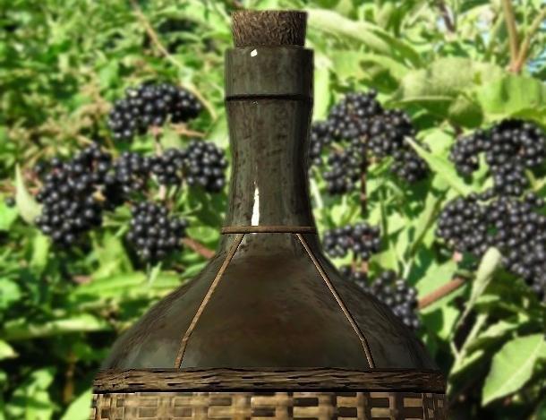Вкусное вино из бузины
