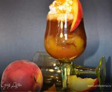 Кофе Джорджия Джинджер с персиками