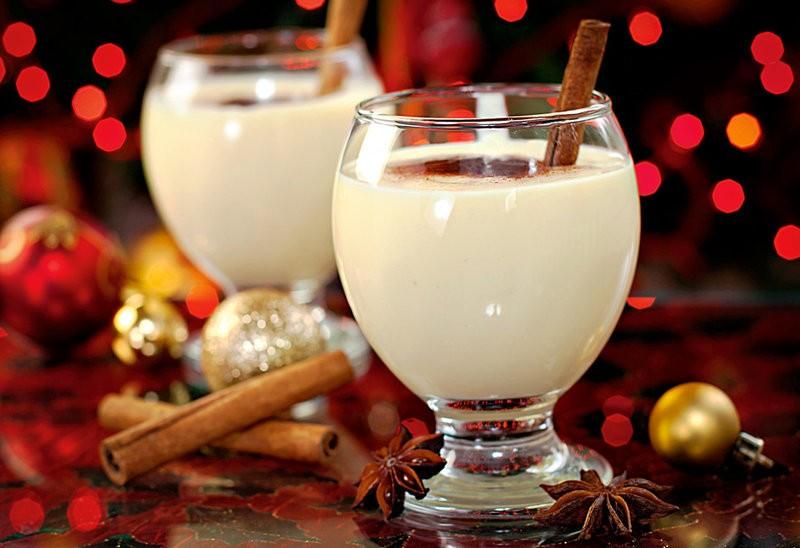 Молочный пунш безалкогольный