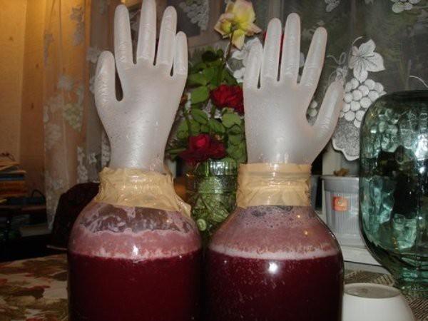 Рецепт браги из виноградных выжимок
