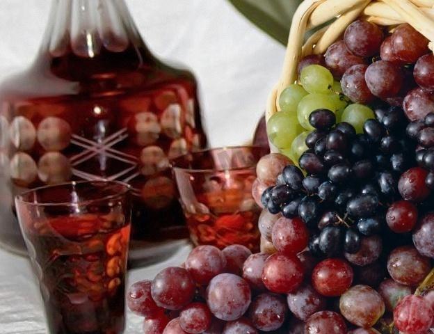 Классическая виноградная наливка. рецепт