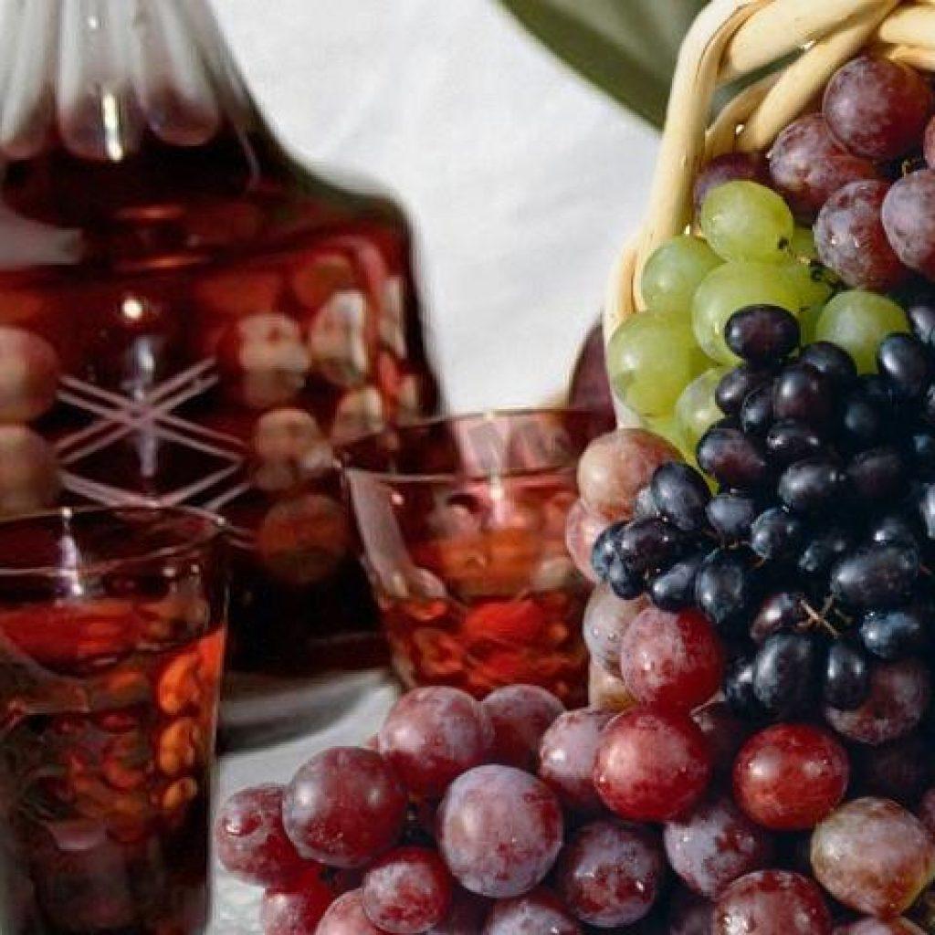 Виноградная настойка на водке