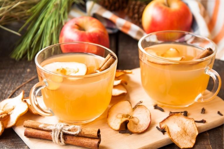 Яблочный пунш с ромом