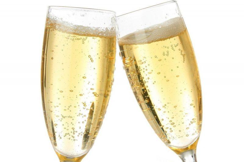 Сколько калорий в шампанском. Состав шампанского