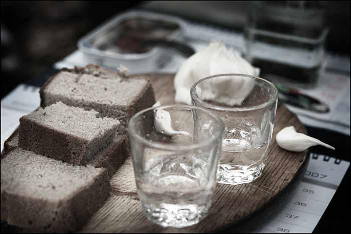 Рецепт хлебной водки
