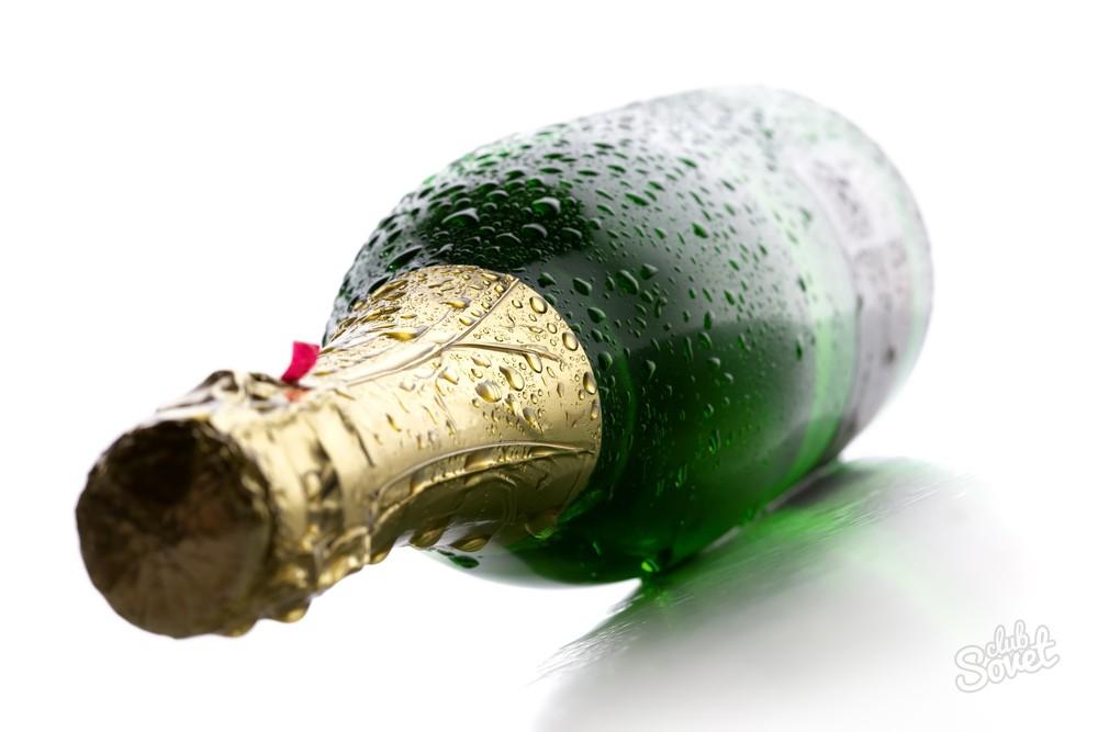 Как разморозить шампанское