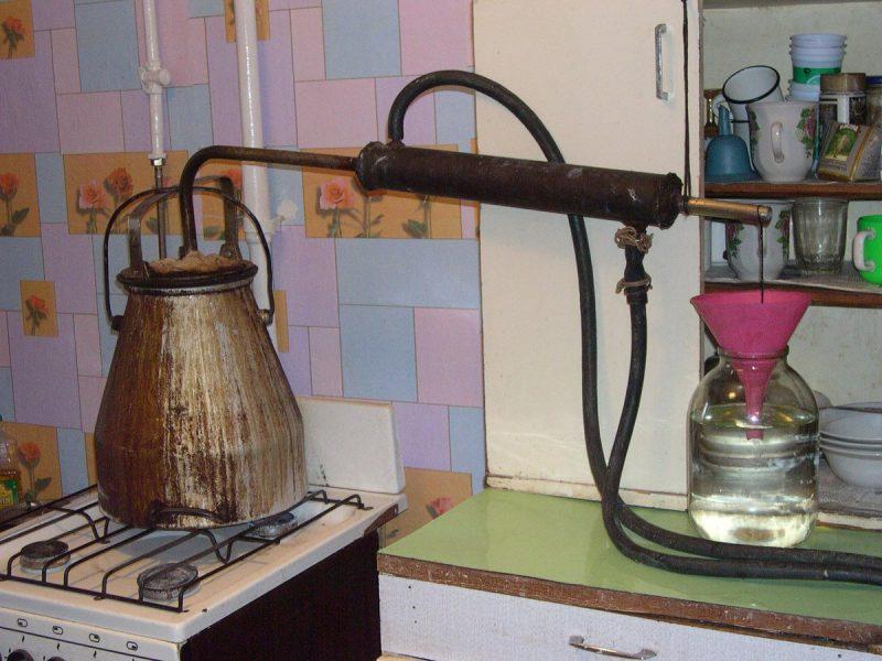 Картофельный самогон в домашних условиях