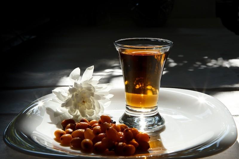 Настойка из облепихи на водке или спирту