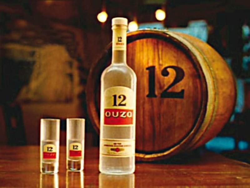 Греческая анисовая водка Узо