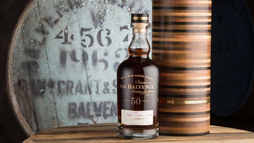 Виски Balvenie 50 y.o (Балвени)