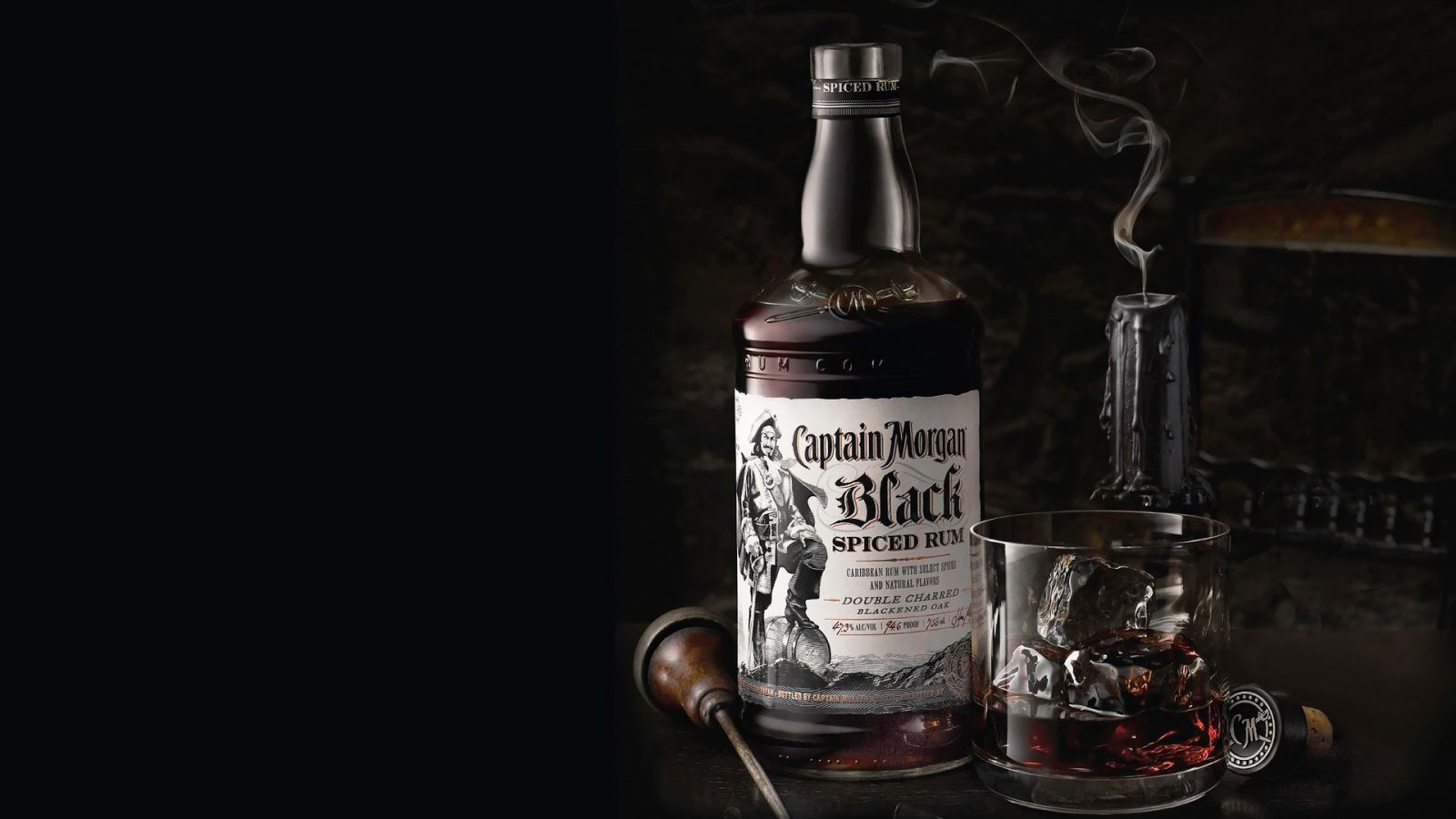 Captain Black Caribbean rum