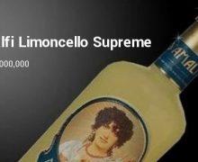 Самый дорогой ликёр Limoncello в мире