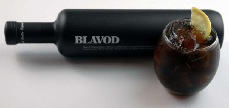 Чёрная водка Blavod