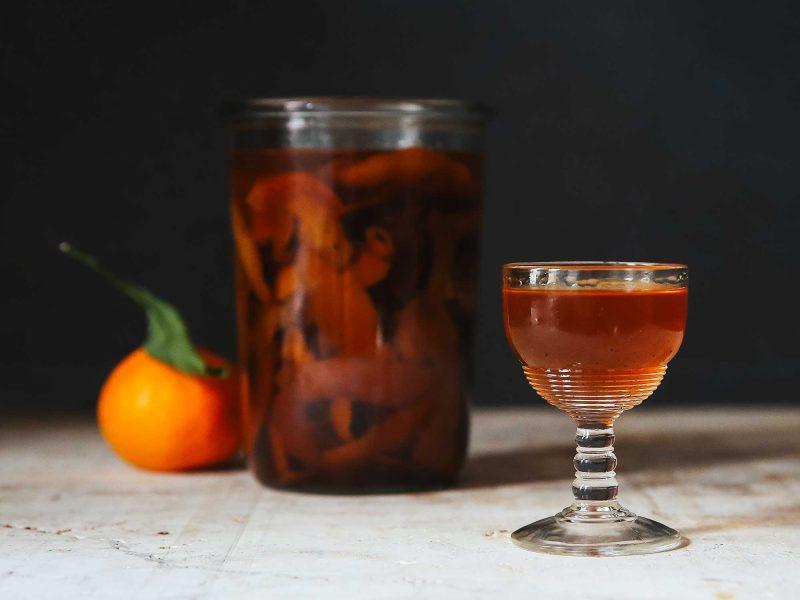 Пряный мандариновый ликёр (Spiced Clemencello)