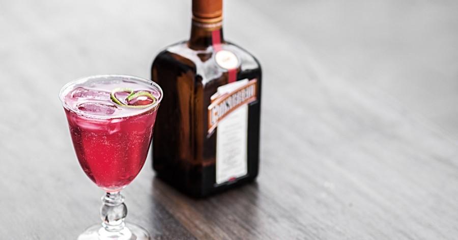 Коктейли с Куантро (Cocktail with Cointreau)