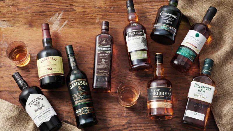 Типы ирландского виски