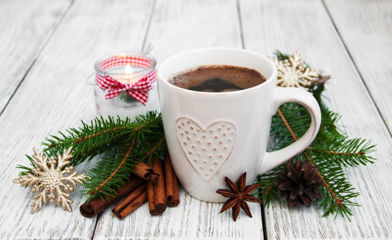 Ароматный новогодний кофе