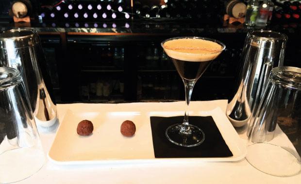 Коктейль Midnight Martini (Полуночный мартини)