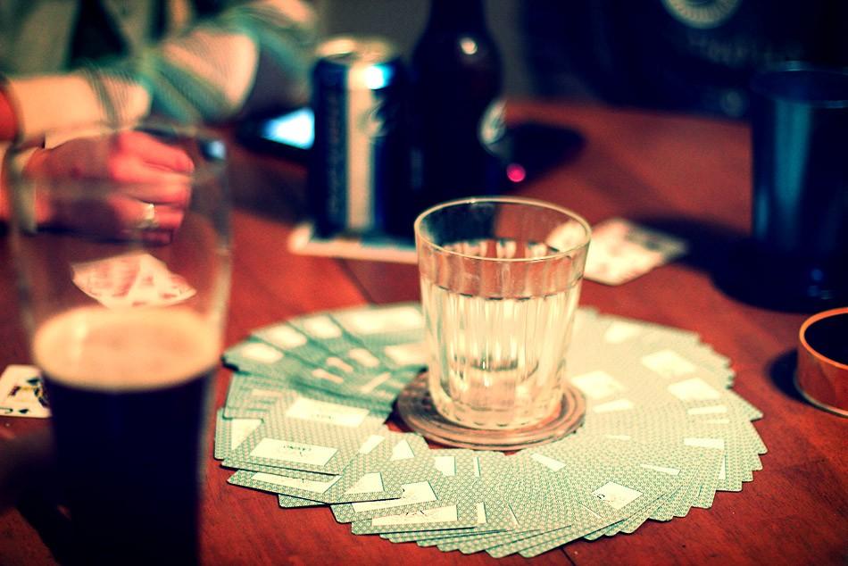Алкогольная игра Круг смерти