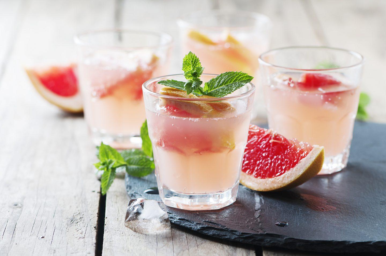 Коктейль Мятный грейпфрут (Cocktail Mint grapefruit)