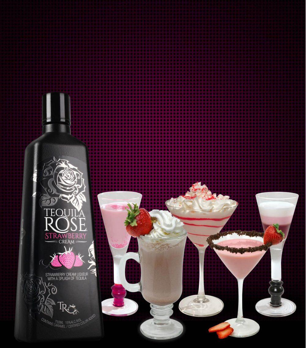 Популярные коктейли с текилой розе