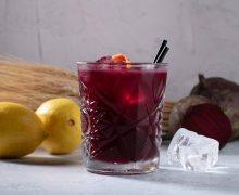 Коктейль Beet Gin (свекольный джин)