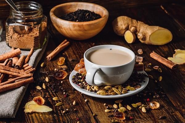 Кофе с имбирём, корицей, лимоном