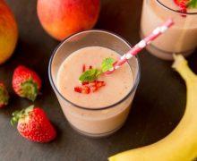 Коктейль фруктово-молочный  Wake up
