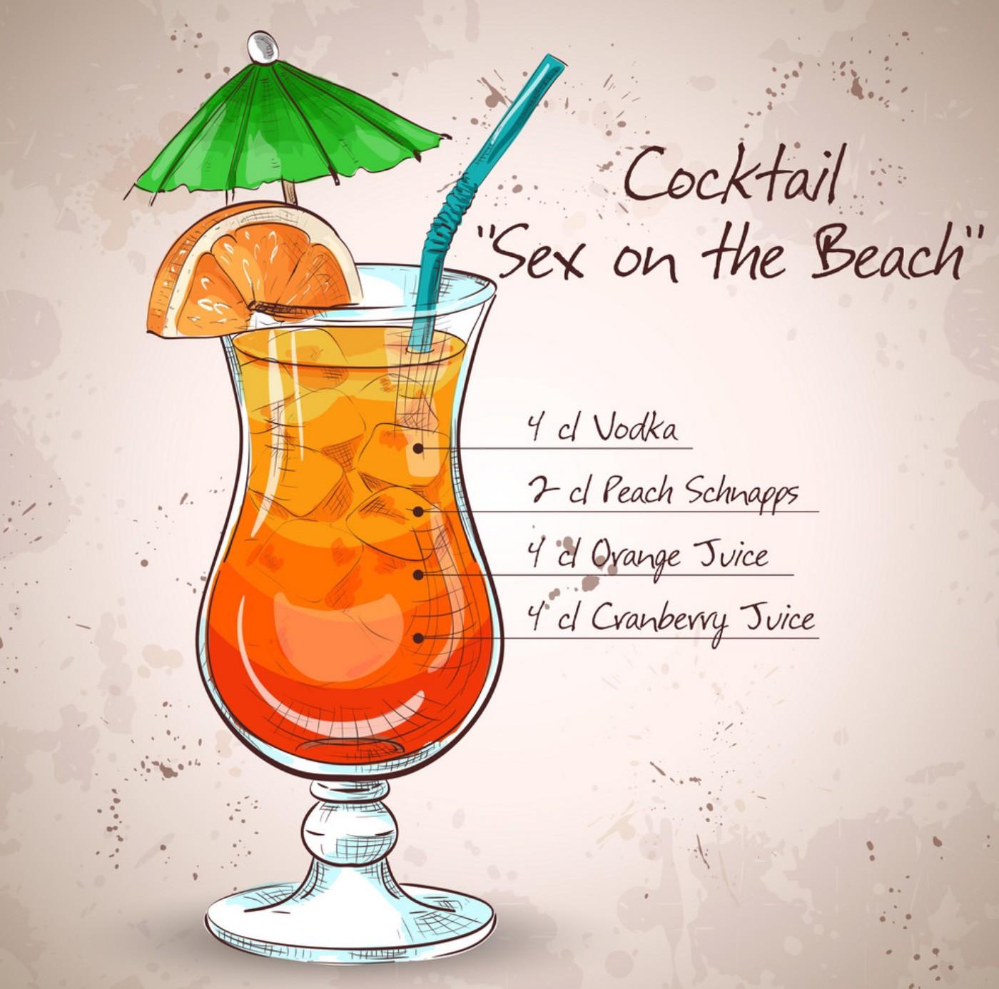 Коктейль Секс на пляже (Sex on the beach)