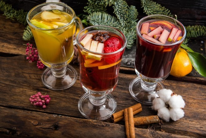 Горячий сидр со специями (Hot Mulled Cider)