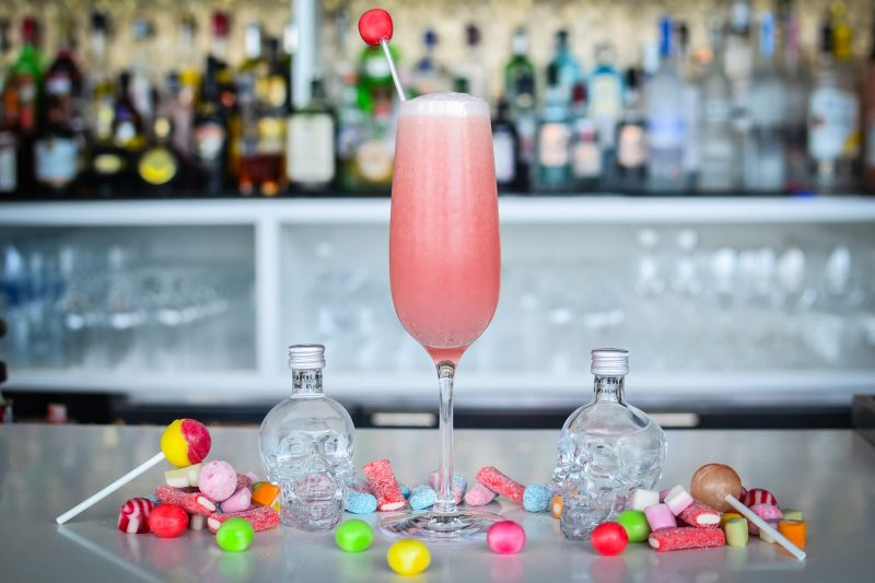 Коктейль Бабл Гам Физ (Cocktail Bubble Gum Ice)
