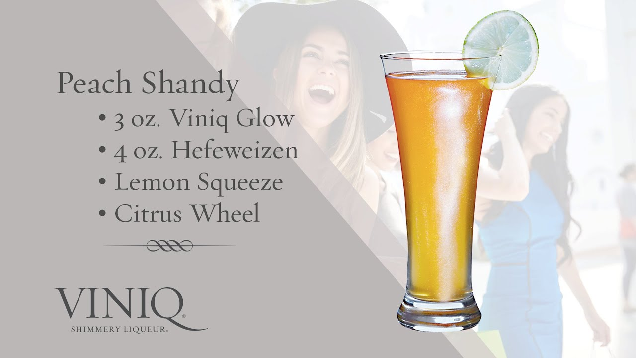 Коктейль Peach Shandy